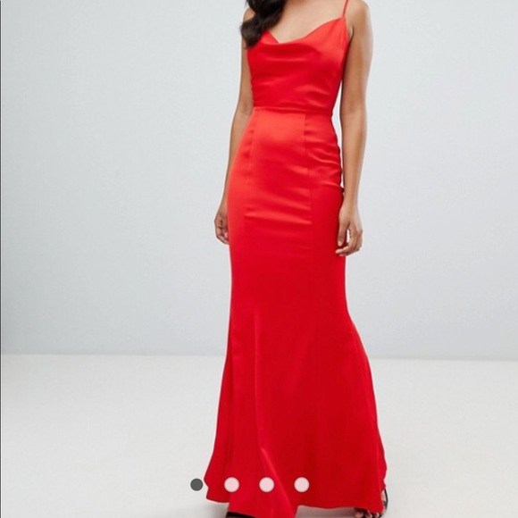 57759de0aff6 Lipsy Dresses   Cowl Neck Maxi Dress Like New   Poshmark